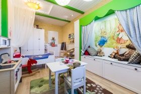 "The Project ""A Small kingdom of Queen Eva"", Repair in Nursery"